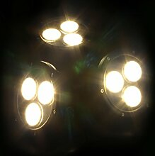 Jebao LED HP12-3 Teichstrahler 3x12W
