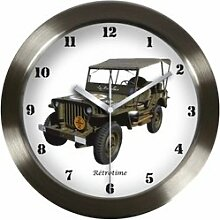 JEEP Willys Pendel Wanduhr