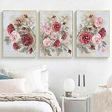 jeioa 3 Schlafzimmer Wohnzimmer Malerei Dekoration