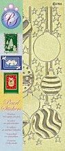 JEJE Produkt Peel Satin Glanz Sticker / Aufkleber, Gold / Silber