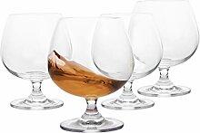 Jekosen Brandy & Cognac Whiskey Kristallgläser,