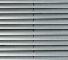 Jellinghaus Sonnenschutz Alu Jalousie silber - Jalousie Aluminium (100 x 220 cm)
