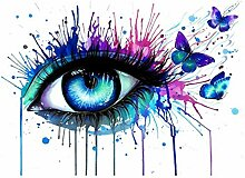 jemdshen Bunte Augen Malen Nach Zahlen Kunst Malen