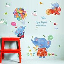 jemdshen Fliegende Elefanten Kinder Spielzimmer