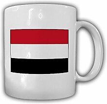 Jemen Fahne_Flagge Kaffee Becher #13525