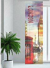 JEMIDI Flächenvorhang - Living- Schiebegardine Flächen Vorhang Raumtrenner Gardine Vorhang Schal Design 98
