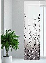 JEMIDI Flächenvorhang - Living- Schiebegardine Flächen Vorhang Raumtrenner Gardine Vorhang Schal Design 39