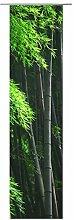 JEMIDI Flächenvorhang - Living- Schiebegardine Flächen Vorhang Raumtrenner Gardine Vorhang Schal (Design 63, Polyester)