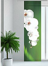 JEMIDI Flächenvorhang - Living- Schiebegardine Flächen Vorhang Raumtrenner Gardine Vorhang Schal Design 34