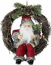 JEMIDI Weihnachtsmann Türhänger