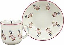Jemima Puddleduck - 2 Piece Porcelain Dining Set