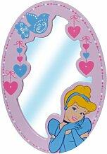 Jemini–711742–Einrichtung und Dekoration–Spiegel aus Holz–Prinzessinnen