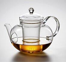 Jenaer Glas Teekanne Mikado mit Deckel und Sieb,