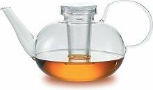 Jenaer Glas Wagenfeld Collection Glas-Teekanne mit