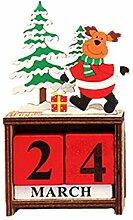 JenK Cing Weihnachtsdeko Weihnachtskalender Aus