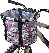 Jenny.Ben Abnehmbare Fahrrad autotasche leinwand