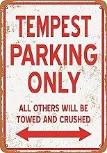 JeremyHar75 Tempest Parking Only Vintage Retro