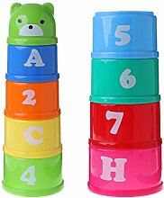 JERKKY Baby Kinder Bildung Figuren Buchstaben