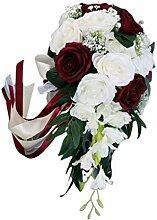 JERKKY Brautstrauß 1 Bund Romantische Hochzeit