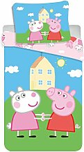 Jerry Fabrics 8500 Peppa Pig Baby-Bettwäsche Set