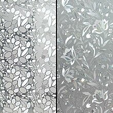 Jesplay Sichtschutz-Fensterfolie, 2 für 1 Bündel
