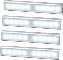 JESWELL 10 LED Schrankbeleuchtung Nachtlicht mit