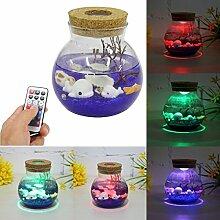 Jeteven Mini Sea leuchte Stimmungs-Lampe LED