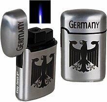 Jetflamme-Feuerzeug - Sturmfeuerzeug Germany metal