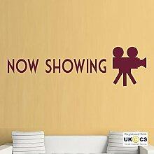 Jetzt angezeigt Kino Film Kühle Kamera Quote Wall
