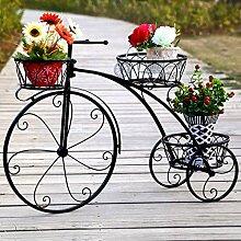 JFFFFWI Blumenständer Retro Fahrrad,