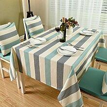 JFFFFWI Tischdecken Tischtuch Tischtuch-B