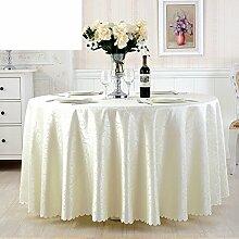 JFFWI Runde Tischwäsche für Hotels,