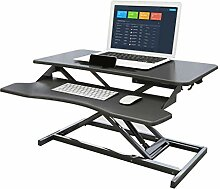 JFSKD Sit-Stand Workstation, Höhenverstellbarer