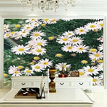 JFSZSD 3D Wallpaper Gänseblümchen Fototapete
