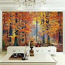 JFSZSD 3D Wallpaper Herbstwald Fototapete