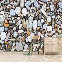 JFSZSD 3D Wallpaper Kieselmuster Fototapete