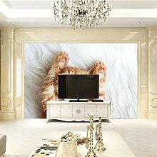 JFSZSD 3D Wallpaper Tiere & Katzen Fototapete