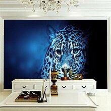 JFSZSD 3D Wallpaper Tiere & Leoparden Fototapete
