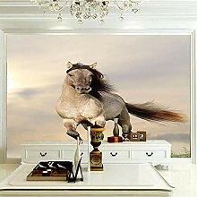 JFSZSD 3D Wallpaper Tierpferd Fototapete