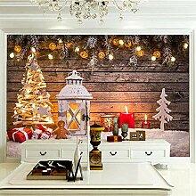 JFSZSD 3D Wallpaper Weihnachtsdekoration