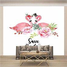JFSZSD Fototapete Tiere & Flamingos Vlies