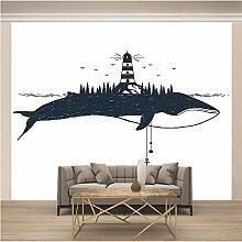 JFSZSD Fototapete Tiere & Wale Vlies Leinwandbild