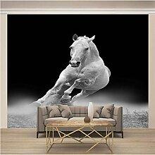 JFSZSD Fototapete Tiere & weißes Pferd Vlies