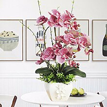 JFWMZyq Künstliche Blume Phalaenopsis Set