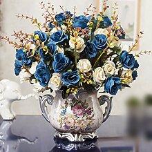 JFWMZyq Künstliche Blume Rose Heimtextilien Set