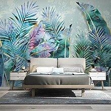 JFZJFZ 3D Wandbild Pflanze Blätter Moderne