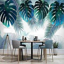 JFZJFZ 3D Wandbild Tapete Pflanze Blätter
