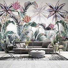 JFZJFZ 3D Wandbild Tropische Pflanze