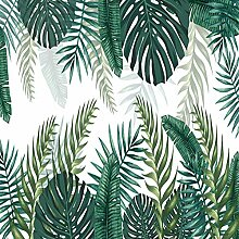 JFZJFZ Regenwald Pflanze 3D Wandmalerei Grüne