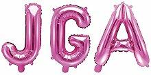 JGA Folien-Ballons/Buchstaben-Ballons/Luft-Ballon